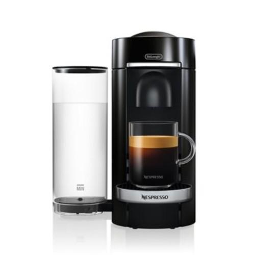 Nespresso by De'Longhi VertuoPlus Deluxe Coffee and Espresso Maker in Black