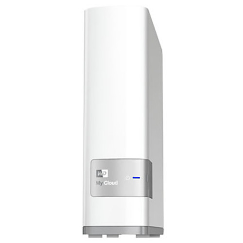 WD My Cloud Personal Cloud Storage 4TB External Hard Drive, White