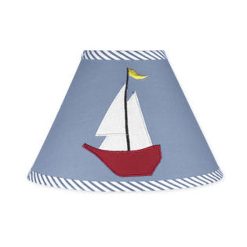 Sweet Jojo Designs Come Sail Away Lamp Shade - Lamp-ComeSailAway