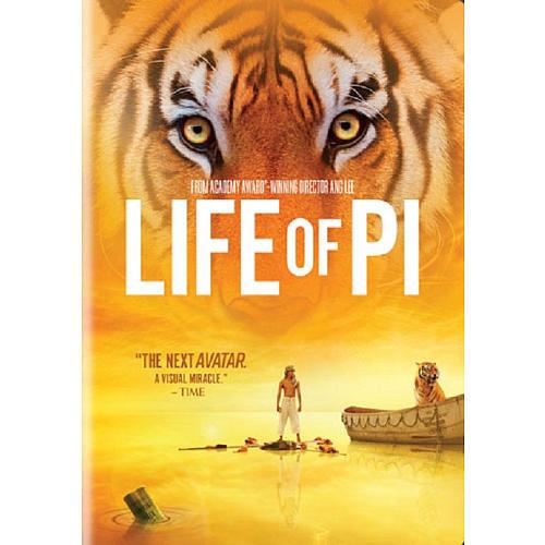 Life of Pi DVD