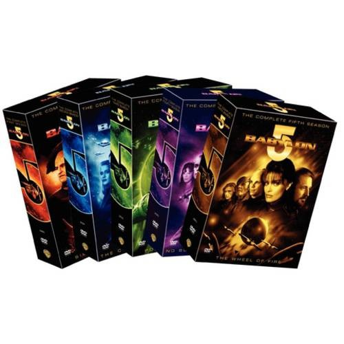 Babylon 5: The Complete Series with Movies [12 Discs] [DVD]