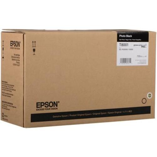 Epson T800 UltraChrome Pro Ink Cartridge, Photo Black, 700 ml, 4 Pack