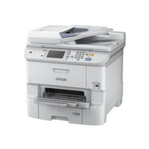 Epson WorkForce Pro WF-6590DWF - Multifunction printer - color - ink-jet - 11 in x 17 in (original) - A4/Legal (media) - up to 22 ppm (copying) - up to 34 ppm (printing) - 580 sheets - 33.6 Kbps - USB