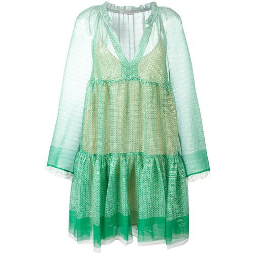 STELLA MCCARTNEY Circle Star Mini Dress