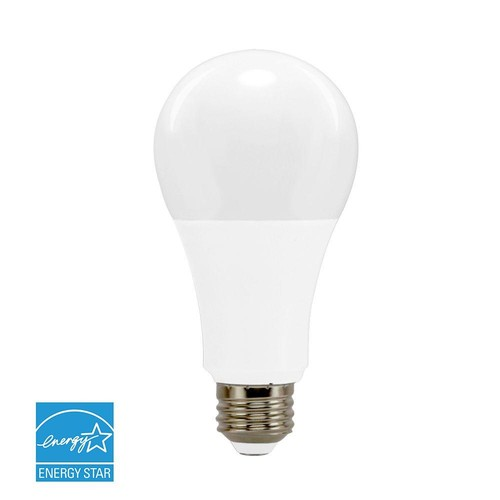 Euri Lighting 100W Equivalent Warm White 2700K A21 Dimmable LED Light Bulb