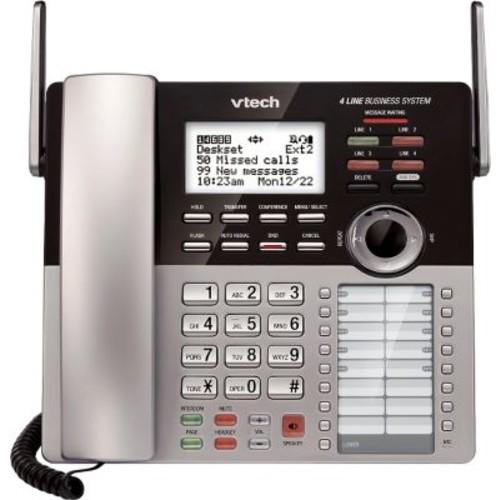 VTech CM18245 Extenstion Deskset for VTech 4-Line Small Business Office Phone System, Silver