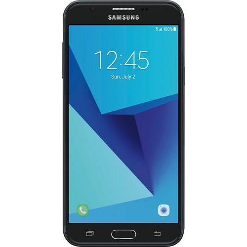 Samsung - Refurbished Galaxy J7 4G LTE with 16GB Memory Cell Phone (Unlocked) - Black