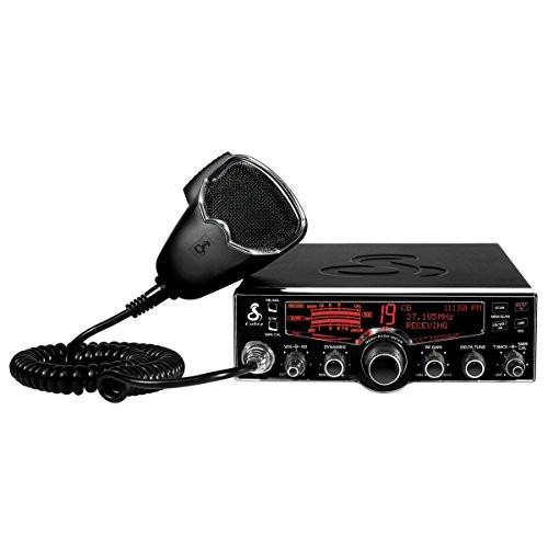 Cobra 29 LX 40-Channel CB Radio with Instant Access 10 NOAA Weather Stations and Selectable 4 Color Display [Black]