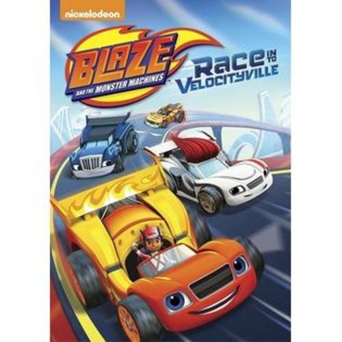 Nickelodeon Blaze & Monster Machines: Race Into Velocityville [DVD]
