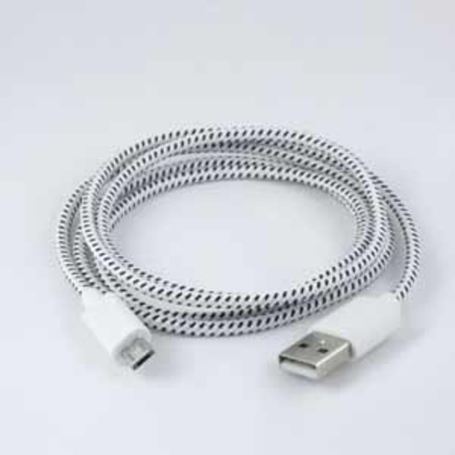 Carwires Micro-USB Charge & Sync Cable - 4 ft. - White