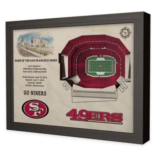 NFL San Francisco 49ers Stadium Views Wall Art
