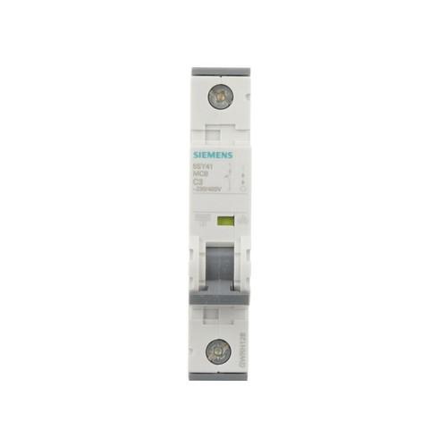 Siemens 3 Amp Single-Pole Circuit Breaker