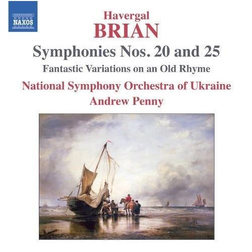Havergal Brian: Symphonies Nos. 20 & 25 [CD]