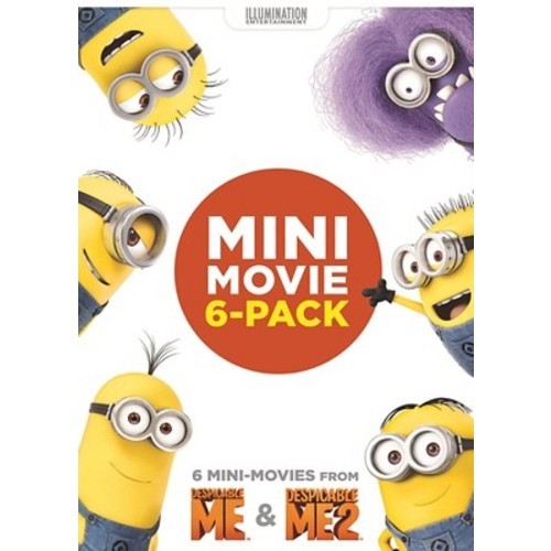 Mini Movie 6-Pack: Despicable Me & Despicable Me 2 (dvd_video)