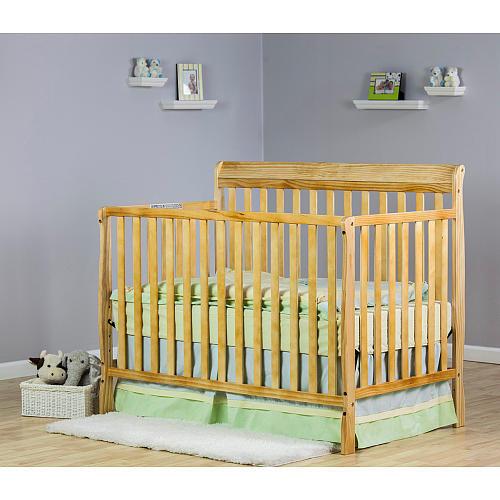 Dream On Me Alissa 4-in-1 Convertible Crib - Natural