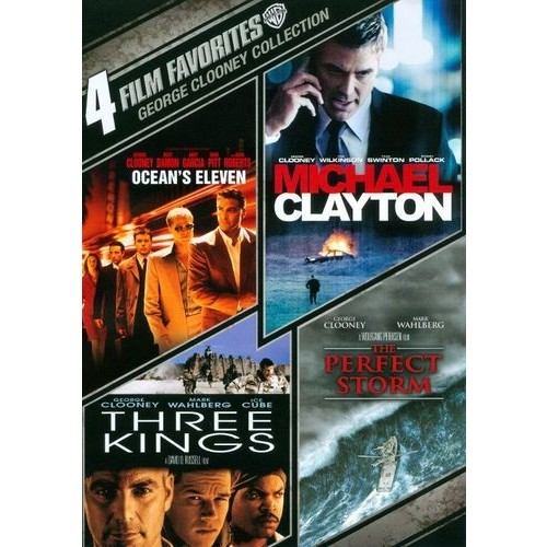 George Clooney Collection: 4 Film Favorites [4 Discs] [DVD]