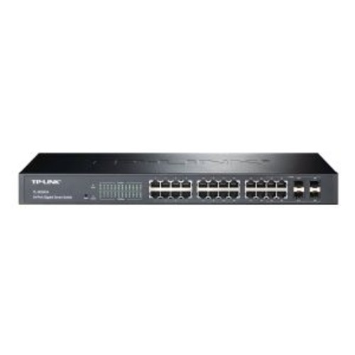 TP-LINK JetStream 24-Port Gigabit Smart Switch with 4 SFP Slots