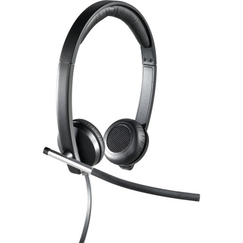 Logitech H650e USB Mono Binaural Headset With Noise Cancelling Microphone