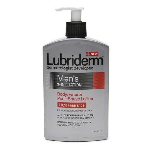 Lubriderm Men's 3-in-1 Lotion, Light Fragrance