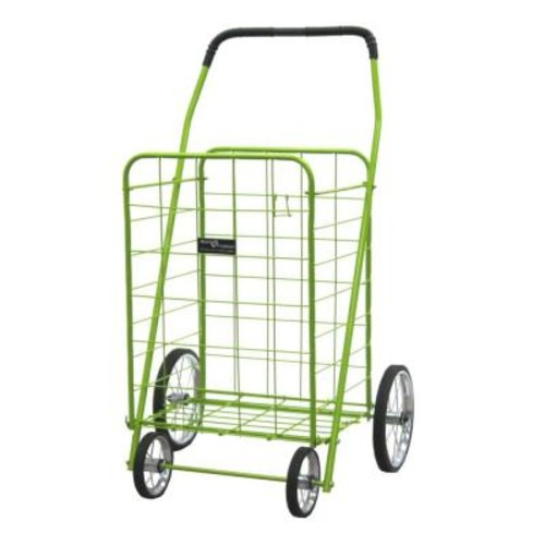 Easy Wheels Jumbo Shopping Cart in Green