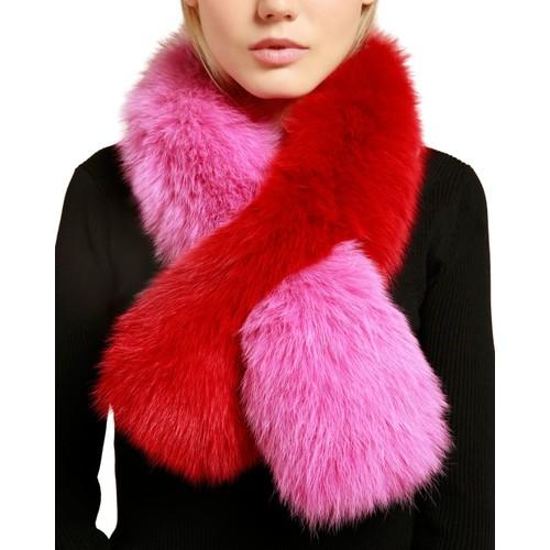 Polly Pop Fox Fur Scarf