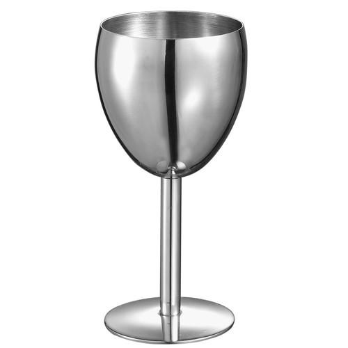 Visol Antoinette Stainless Steel Wine Glass [Pack of 1]