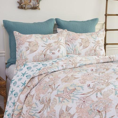 C&F Home Key Biscayne Quilt Set