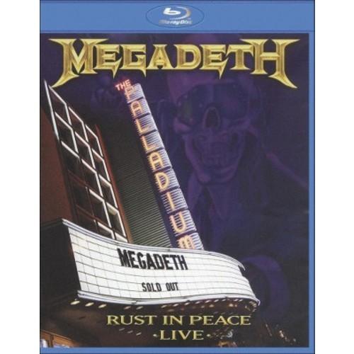 Megadeth: Rust in Peace - Live [Blu-ray]