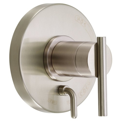 Danze D500458BNT Parma Pressure Balance Valve with Diverter Trim Kit, Valve Not Included, Brushed Nickel [Brushed Nickel]