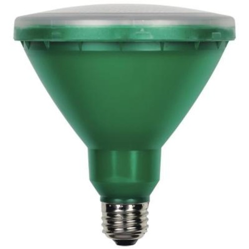 Westinghouse 100W Equivalent Green PAR38 Flood LED Indoor/Outdoor Light Bulb