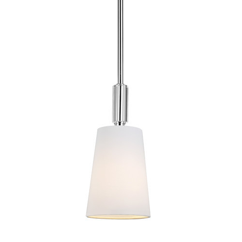 Lismore 1 Light Mini Pendant by Feiss [Finish : Polished Nickel]