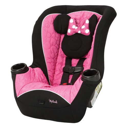 Apt Pink/Black Minnie Mouse Convertible Car Seat