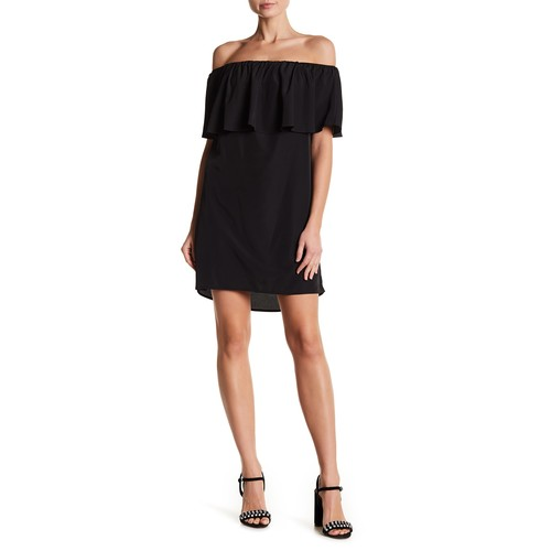 Kiara Off-the-Shoulder Ruffle Dress