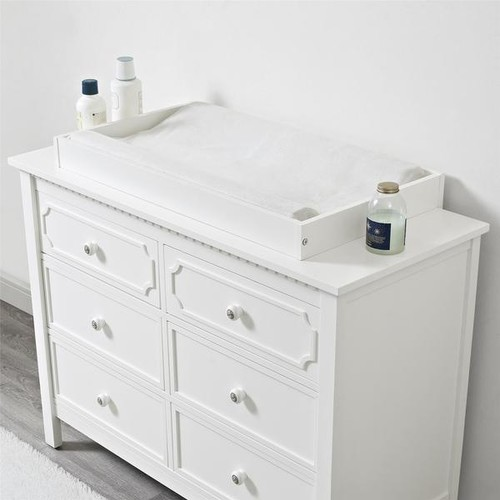 Baby Relax White Changing Topper