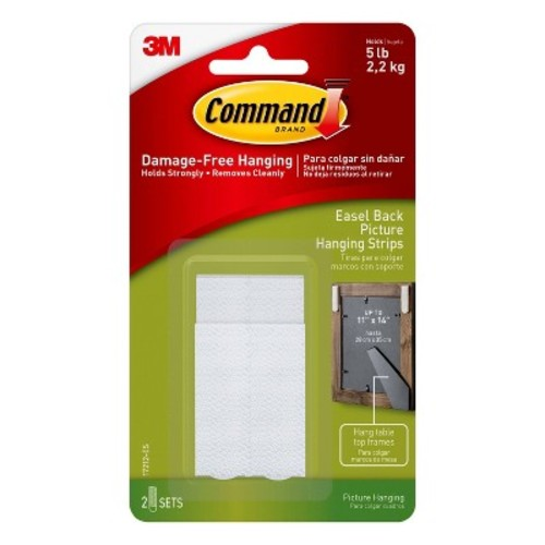 Command Picture Hanging Easel - 1/Pk