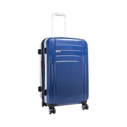 Calvin Klein Wheeled & Checked Luggage Calvin Klein Rome 25in Upright Blue