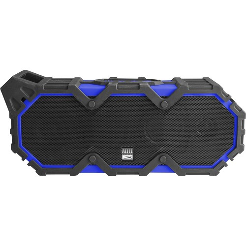 Altec Lansing - Super Life Jacket iMW888 Portable Wireless Speaker - Superman blue