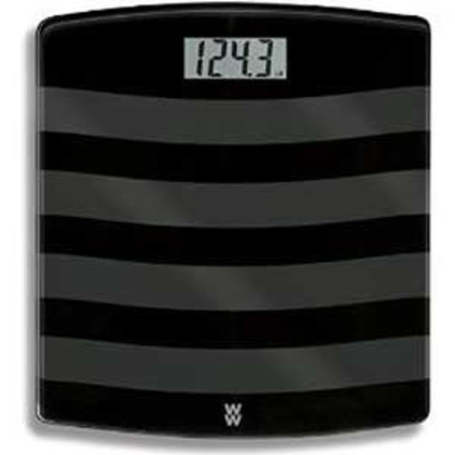 Weight Watchers by Conair Digital Painted Glass Scale - Black