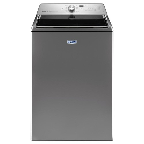 Maytag 5.3 cu. ft. High-Efficiency Top Load Washer in Chrome Shadow, ENERGY STAR
