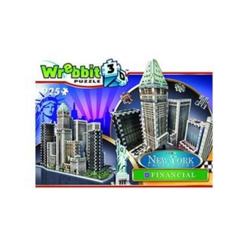 Wrebbit Puzzles Wrebbit Puzz-3D New York City Collection, Financial District, N.Y.C. 3D Jigsaw Puzzle (925 Pieces)