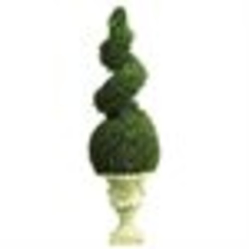 Nearly Natural 5222 Cedar Spiral Permanent Tree