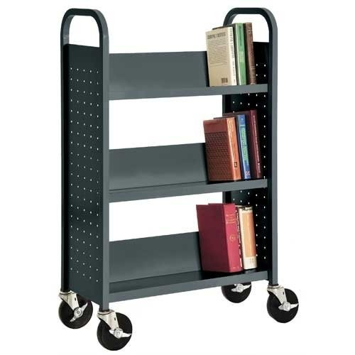 Sandusky Lee SL327-02 Single Sided Sloped Shelf Welded Bookcase, 14