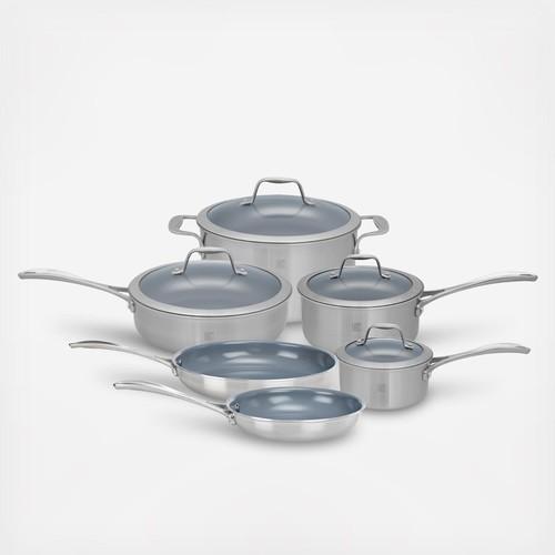 Spirit Nonstick Ceramic 10-Piece Cookware Set