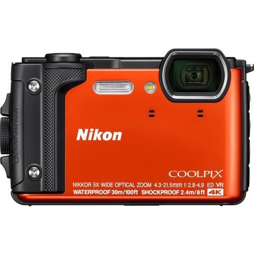 Nikon - COOLPIX W300 16.0-Megapixel Waterproof Digital Camera - Orange