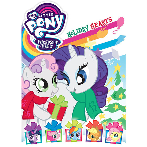 My Little Pony Friendship is Magic: Holiday Hearts (DVD)