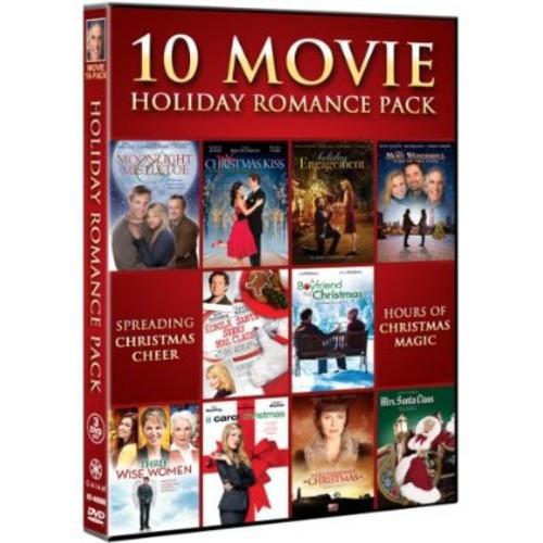 10 Movie Holiday Romance Pack [3 Discs] [DVD]