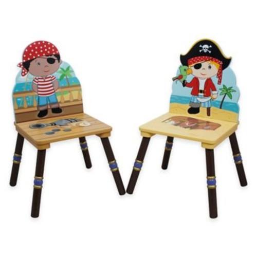 Teamson Fantasy Fields Pirates Island Chairs (Set of 2)