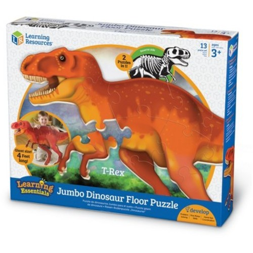 Learning Resources Jumbo Dinosaur Floor Puzzle 13-Piece - T-Rex