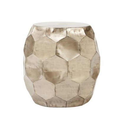 Home Decorators Collection Honeycomb Burnished Truffle End Table