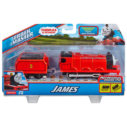 Fisher-Price Thomas & Friends TrackMaster Motorized James Engine
